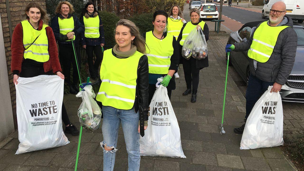 Landelijke nominatie voor Cleanup team Westland