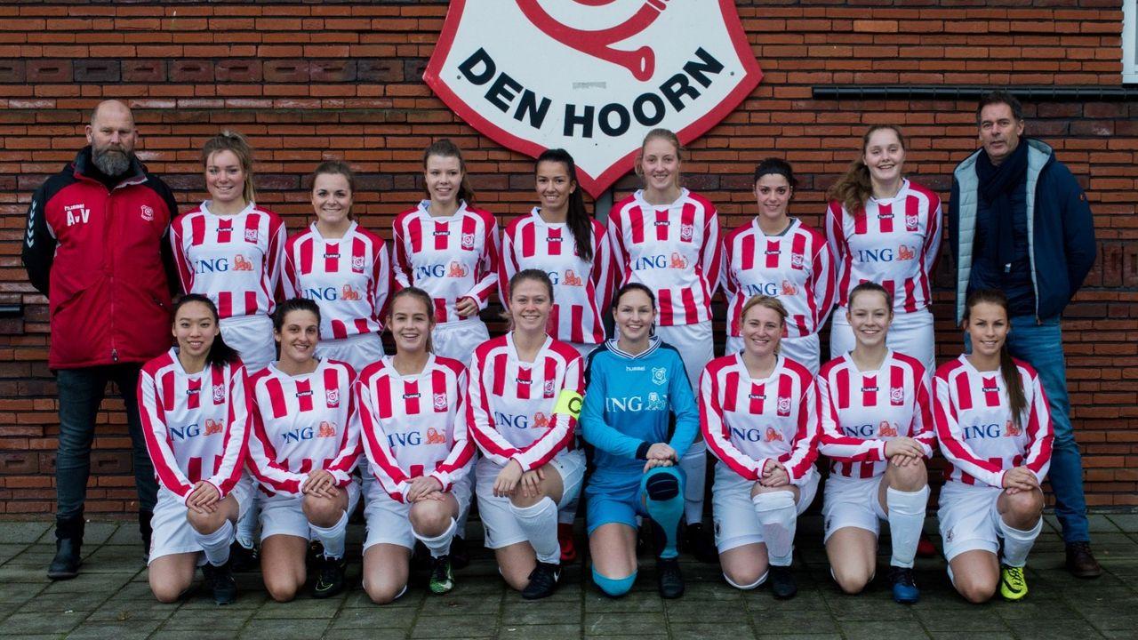 Vrouwen Den Hoorn lopen opnieuw tegen nederlaag aan