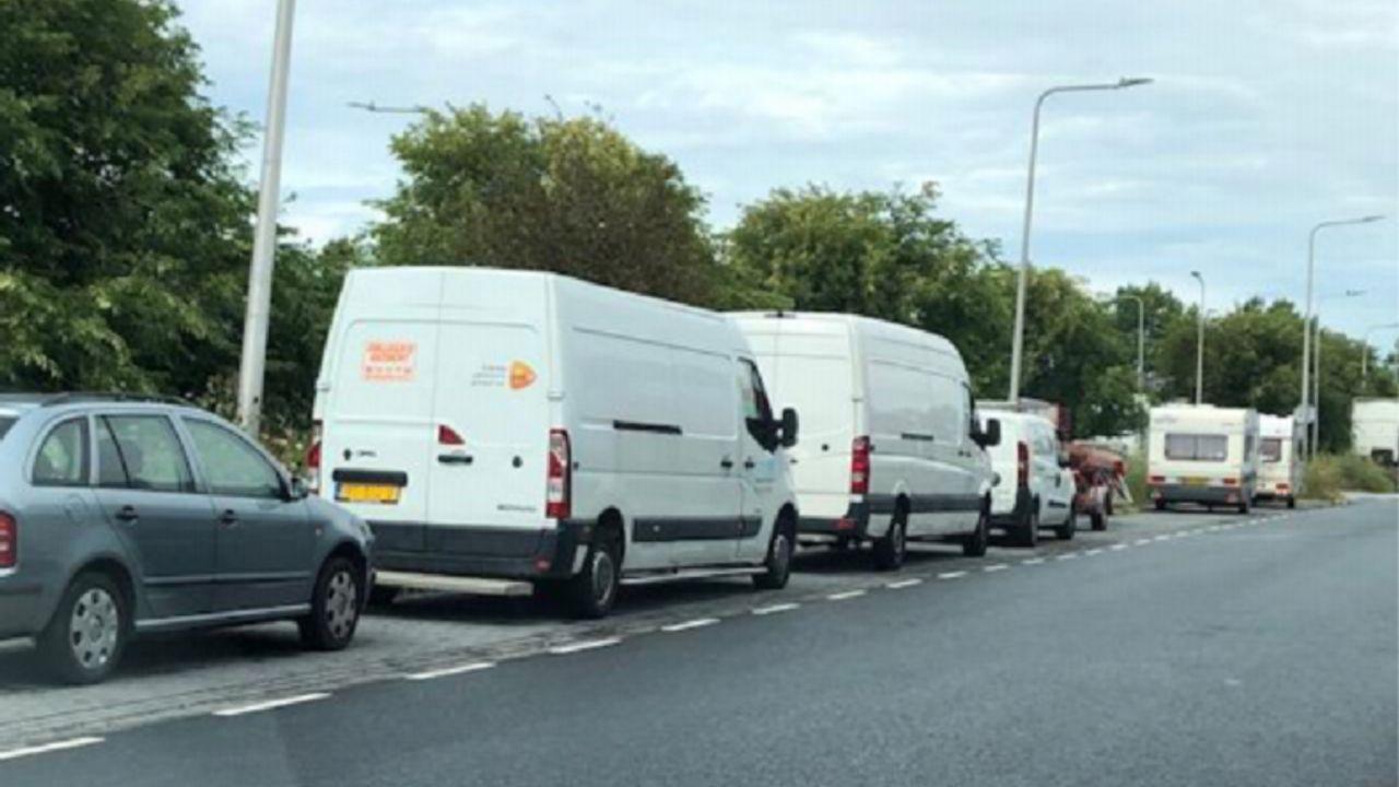 'Foutparkeerders' doorn in het oog op Wateringse bedrijventerreinen