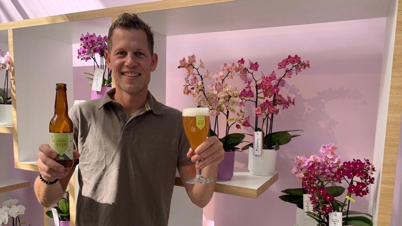 Bier van orchideeën: 'bloemig, zacht en fris'