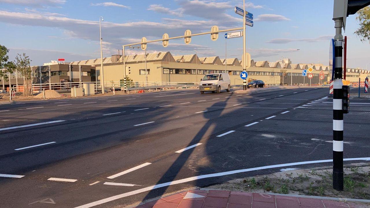 Kruising Dijkweg-Elsenweg weer open voor verkeer