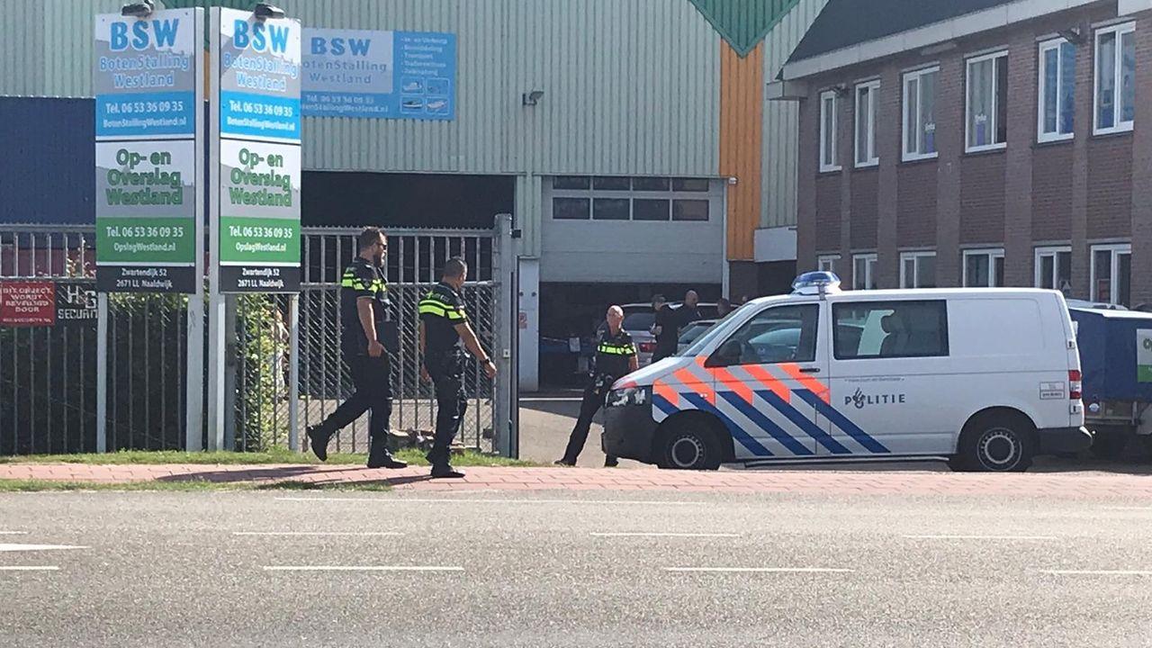 Twee Naaldwijkers aangehouden bij grote politieactie