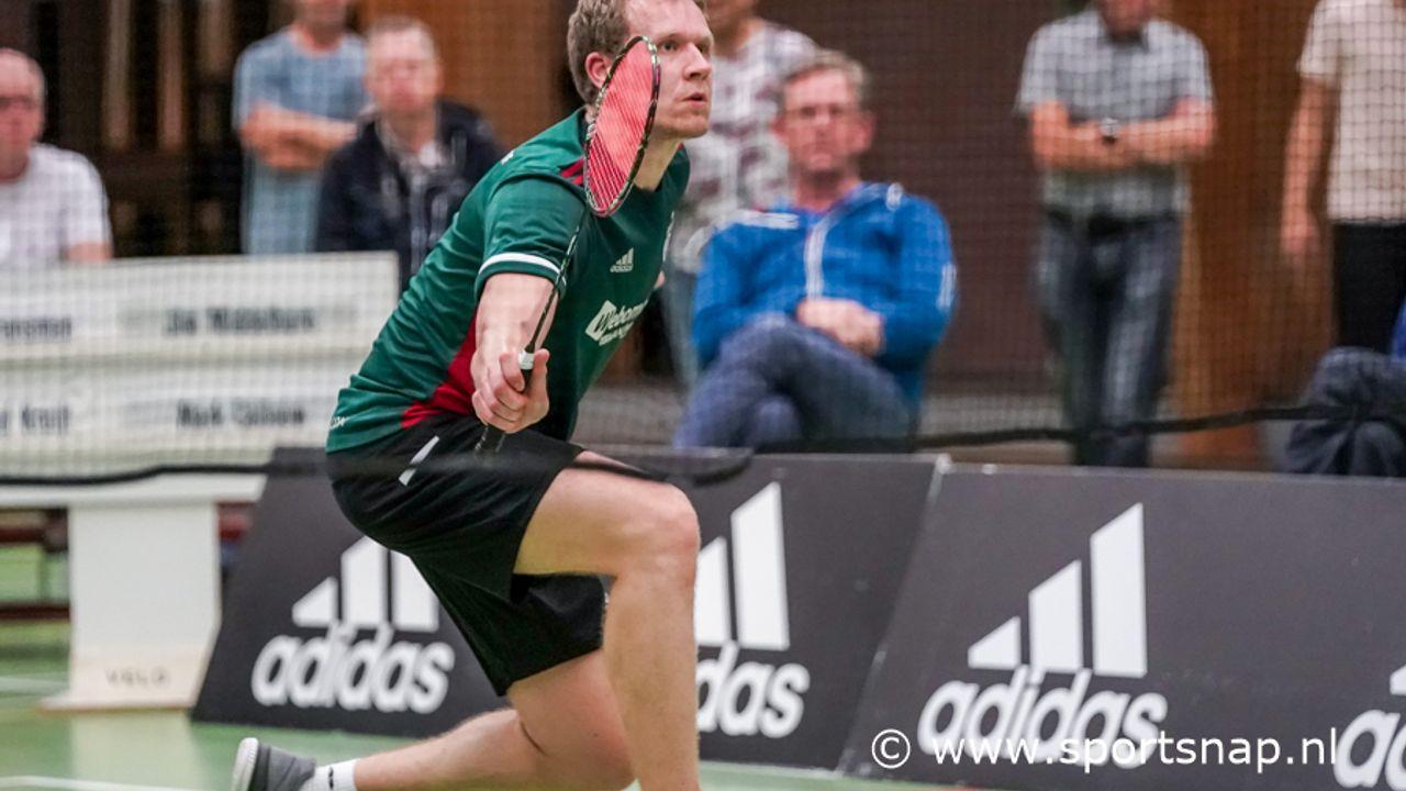 Zuur verlies voor Velo Badminton