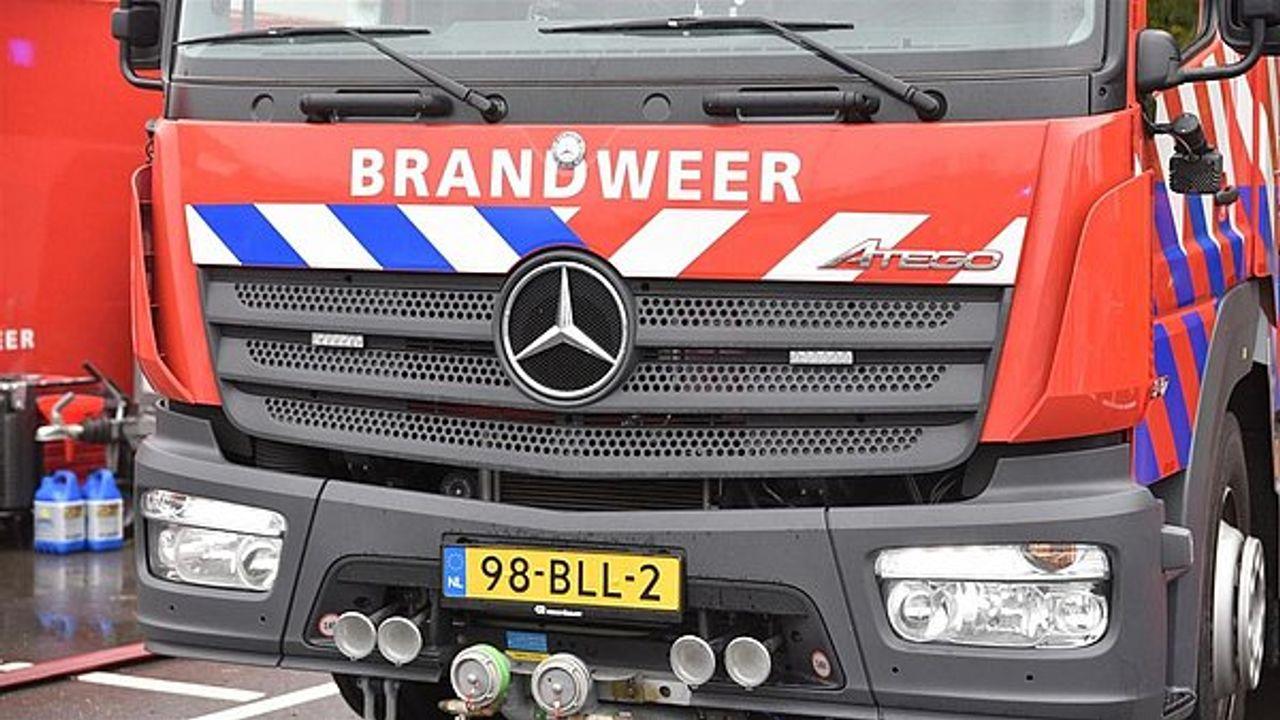 Brand op zolder woning Naaldwijk