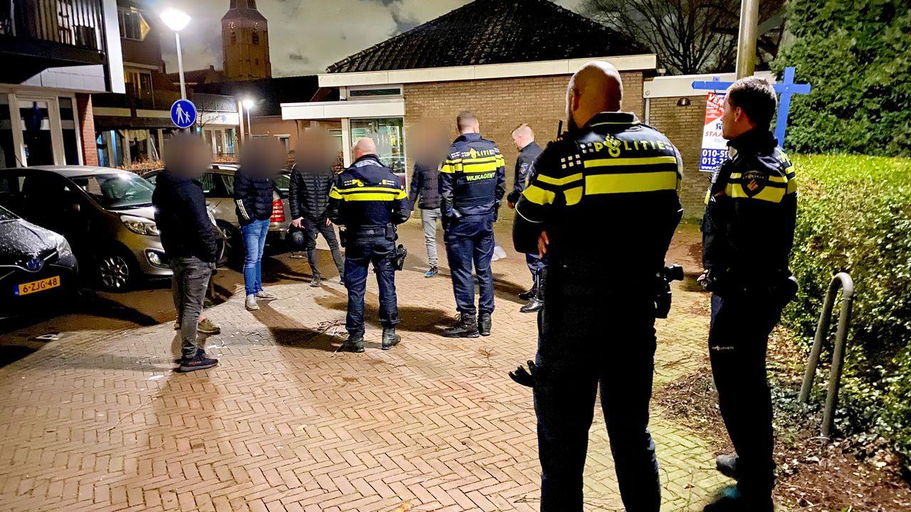 Vijf verdachten aangehouden voor vernielingen in Maasland