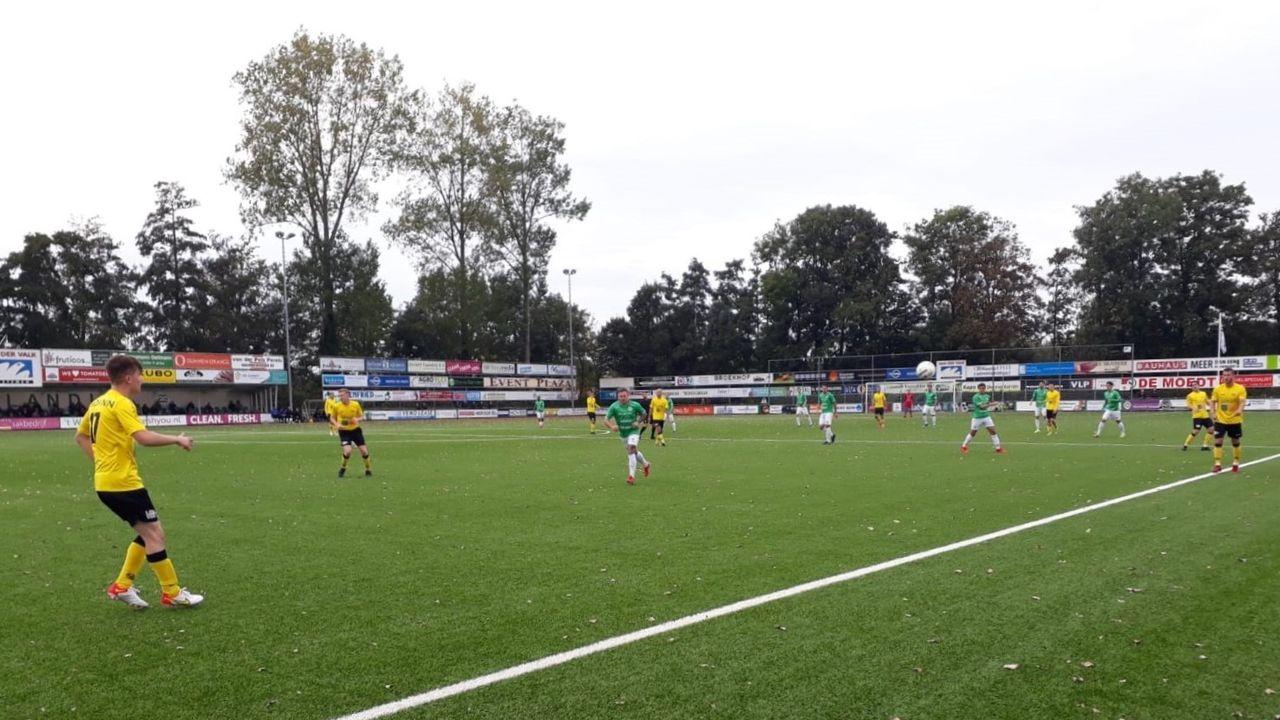 Westlandia op eigen veld onderuit tegen UNA, winst voor Den Hoorn