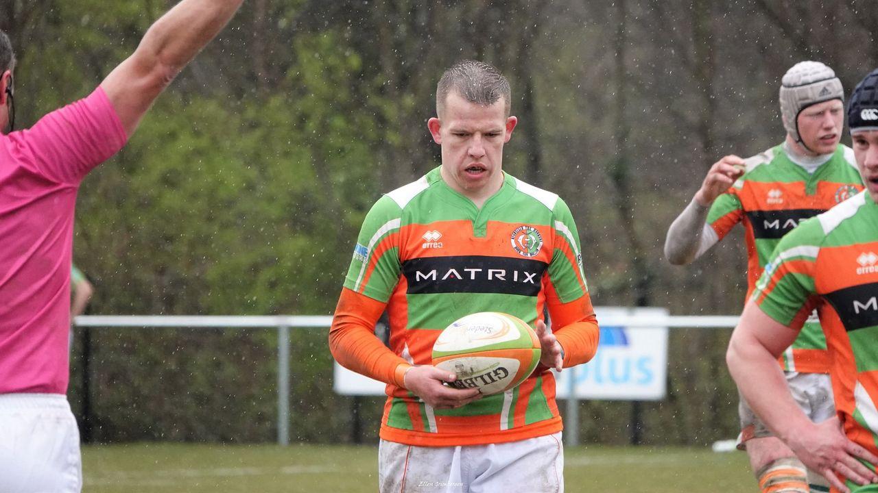 Hoekse rugbyers delven thuis onderspit tegen Ascrum