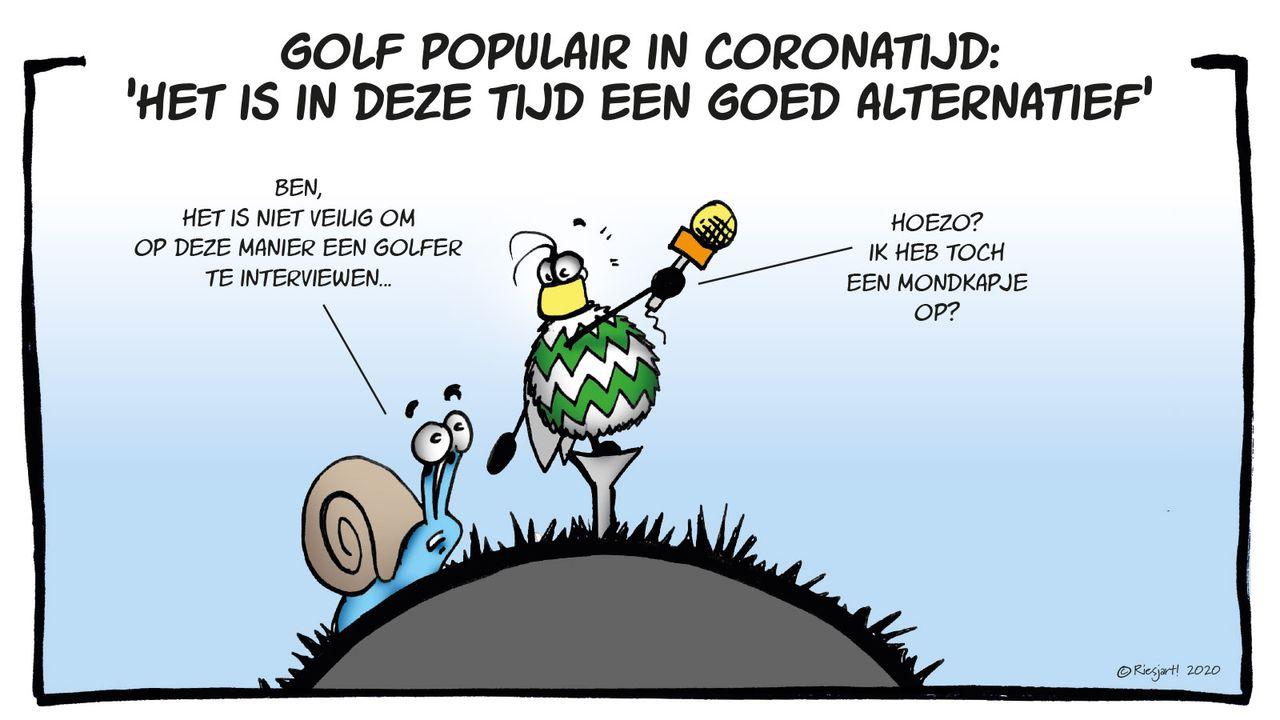 Ben & Sem gaan golfen