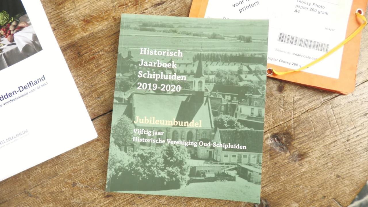 Historisch Jaarboek Oud-Schipluiden is jubileumbundel geworden