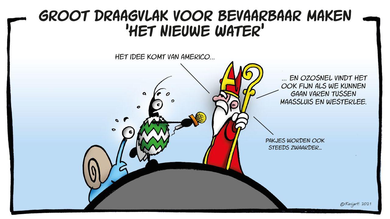Ben & Sem over bevaarbaar maken Het Nieuwe Water