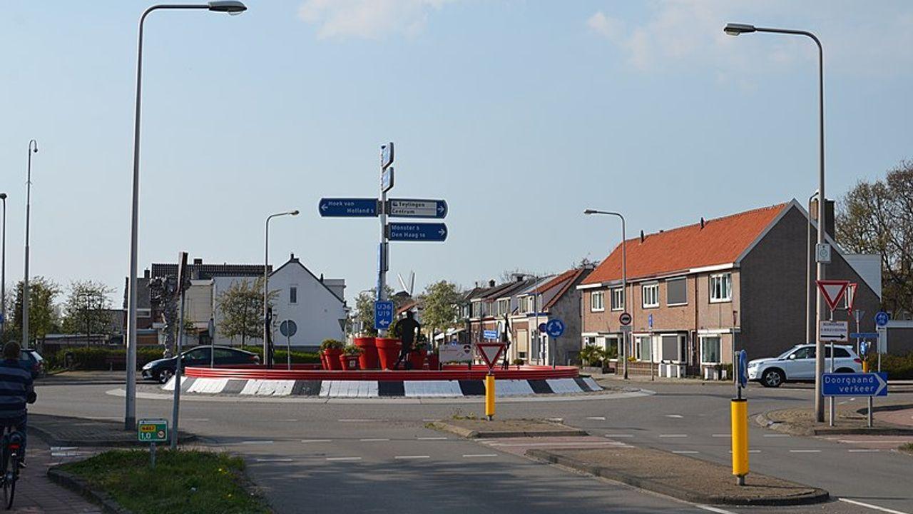 Deel Koningin Julianaweg in 's-Gravenzande bijna twee weken dicht