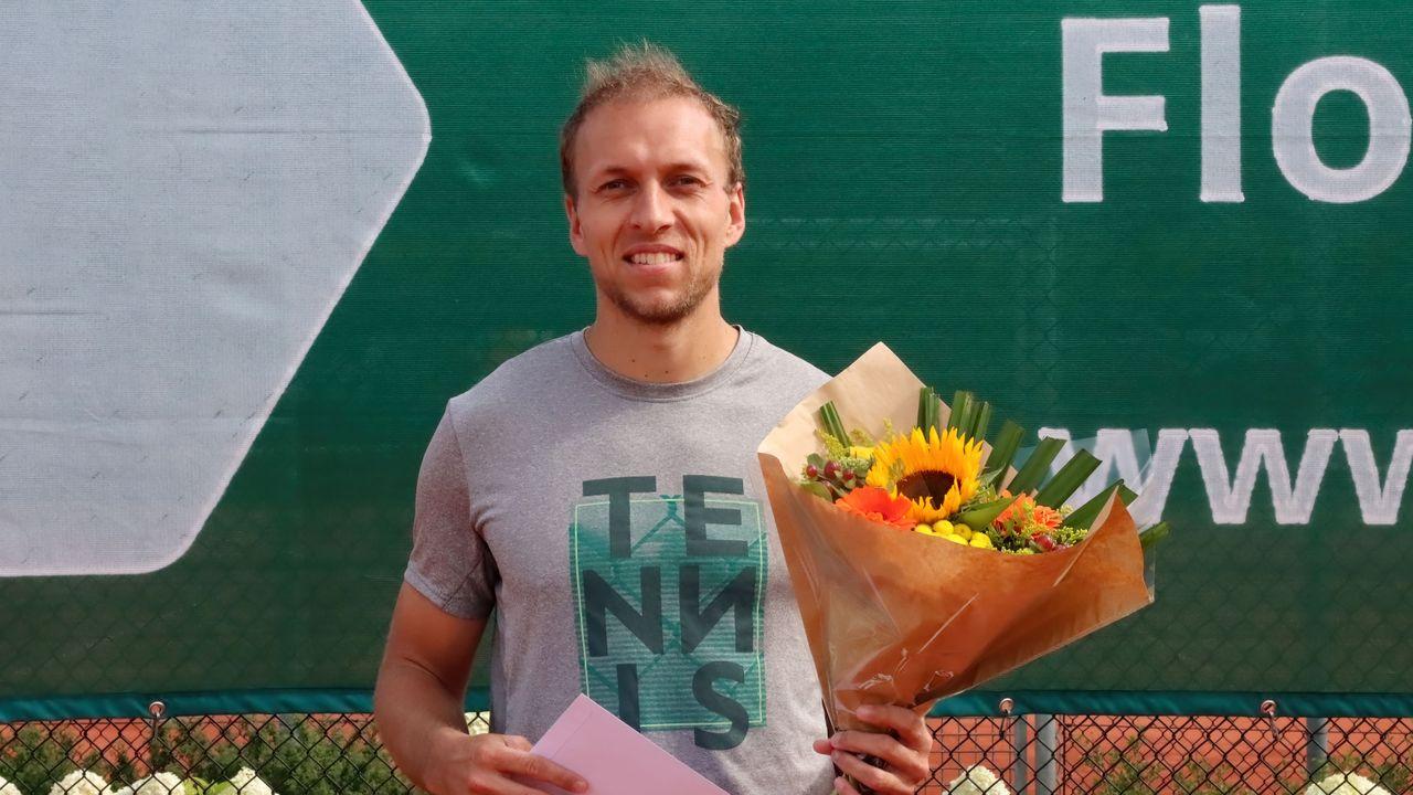 Senne Braun wint Open Bloemen Toernooi bij LTC Naaldwijk