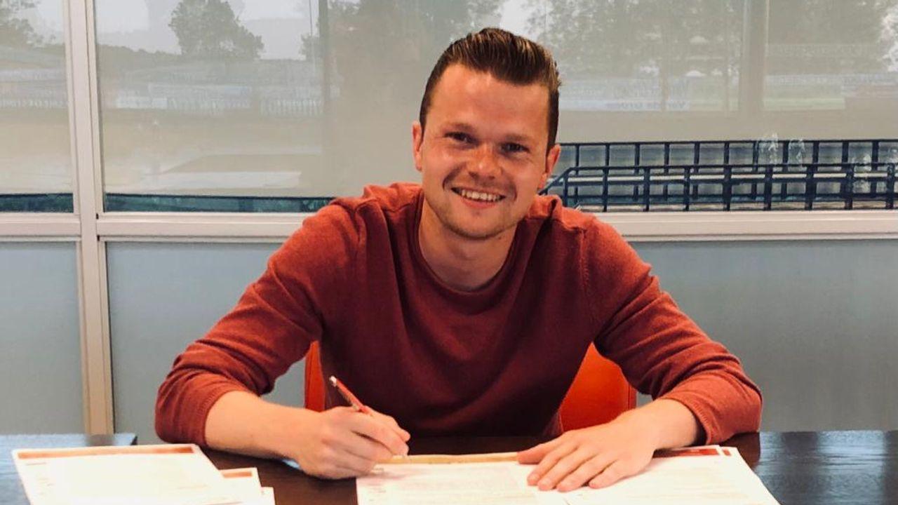 Maassluise voetballer Pieter Langedijk naar IJsselmeervogels