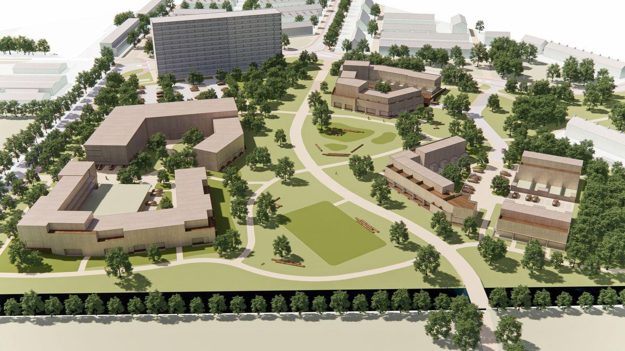 Rotterdam wil vaart maken met woonzorg in Hoekse Lemairepark