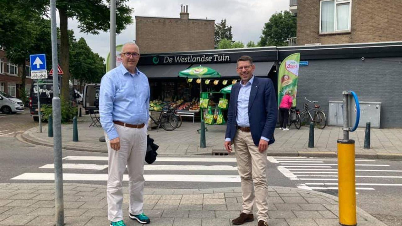 Burgemeester Arends op werkbezoek in Rotterdam