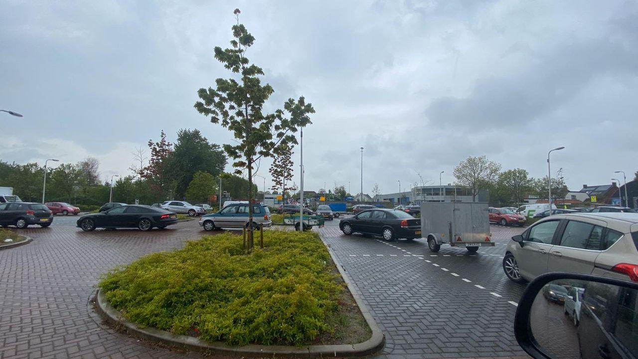 Grote drukte bij gemeentewerf in Naaldwijk