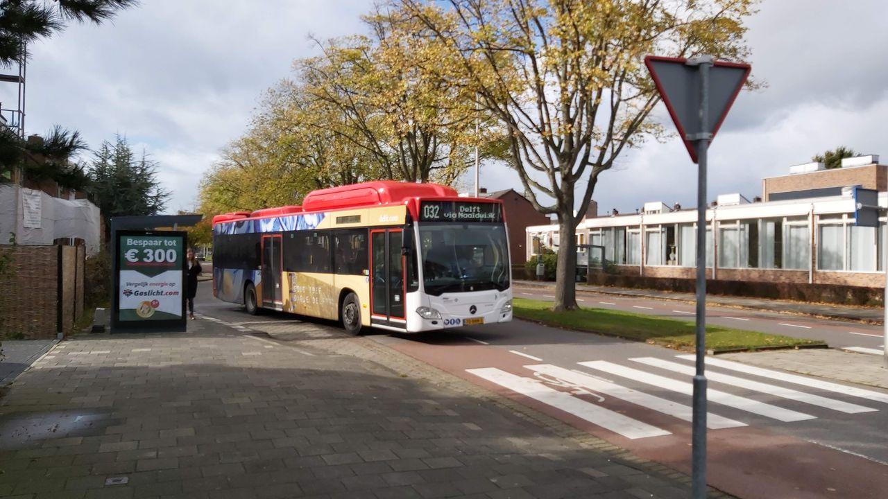 Rechtstreeks met de bus naar de TU Delft