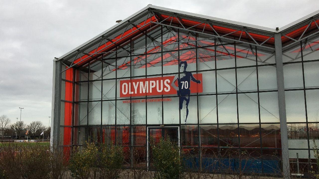 Hal van Olympus '70 nu topsportlocatie
