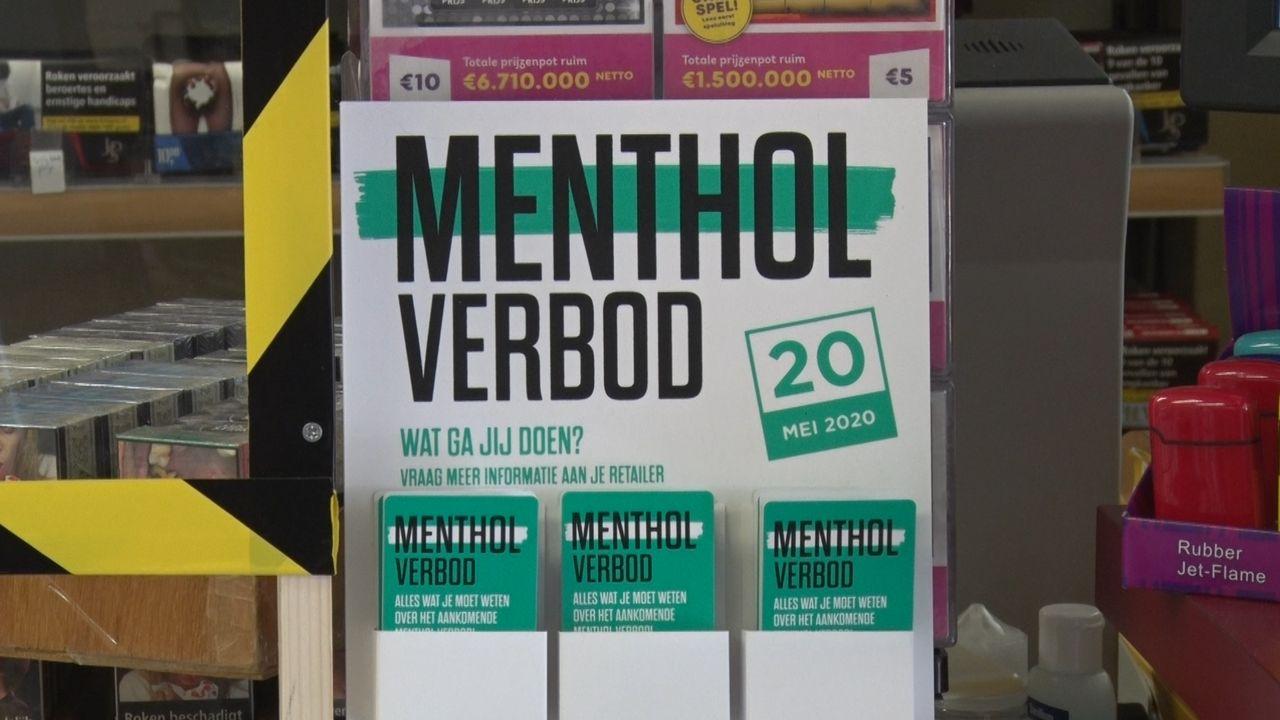 Run op mentholsigaretten vanwege laatste verkoopdag
