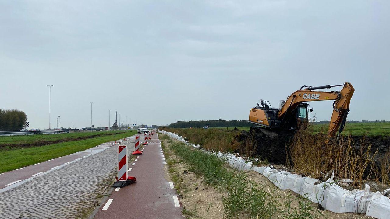 Voorbereidingen voor verplaatsing Broekpolderweg begonnen