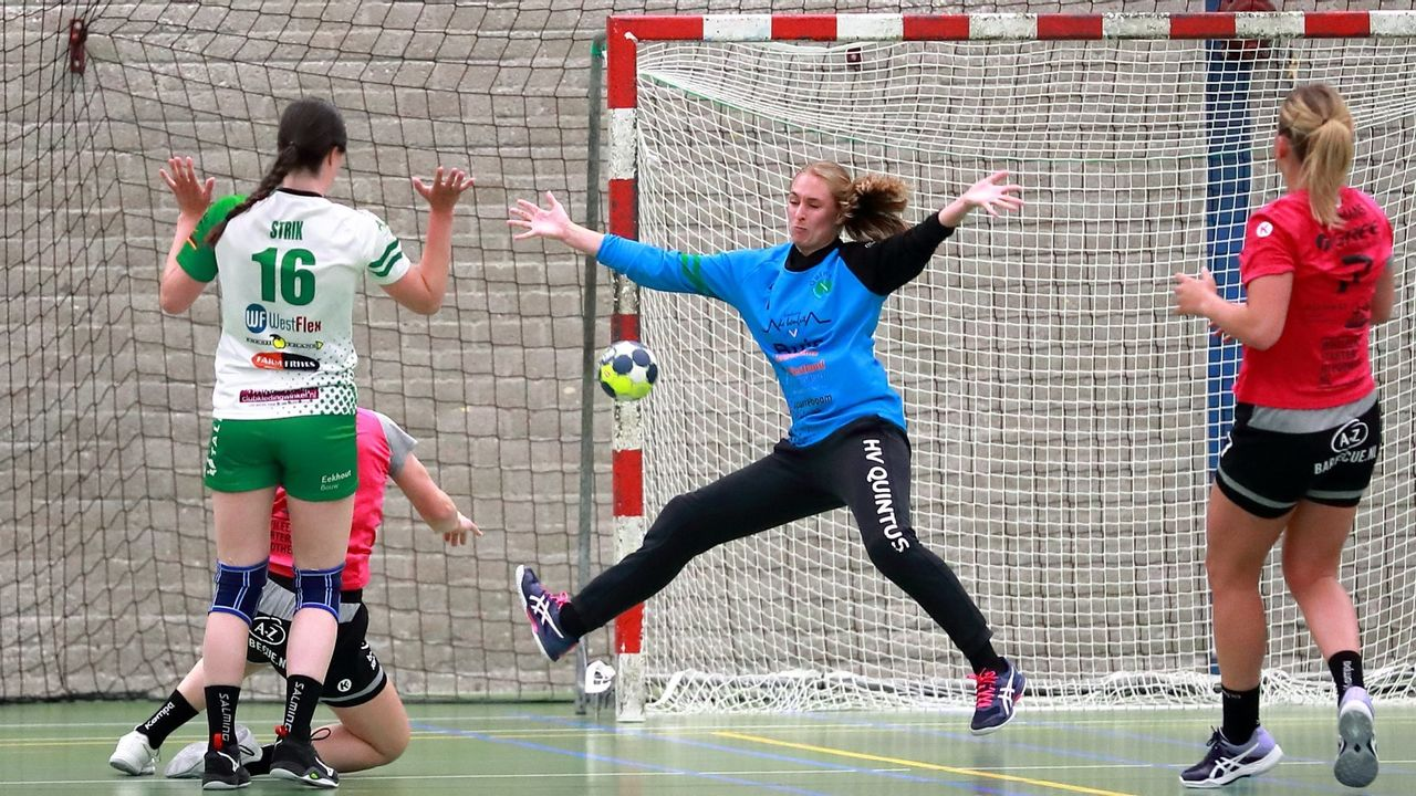 Handbalsters Quintus kampioen van alternatieve competitie
