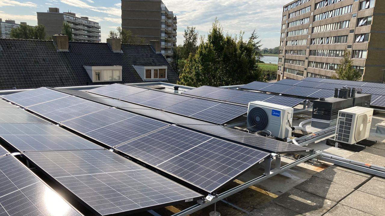 Appartementencomplex Maassluis heeft geen energieleverancier nodig