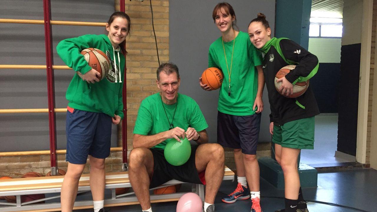 Ook Van Baalen keert terug bij basketbalsters Green Eagles