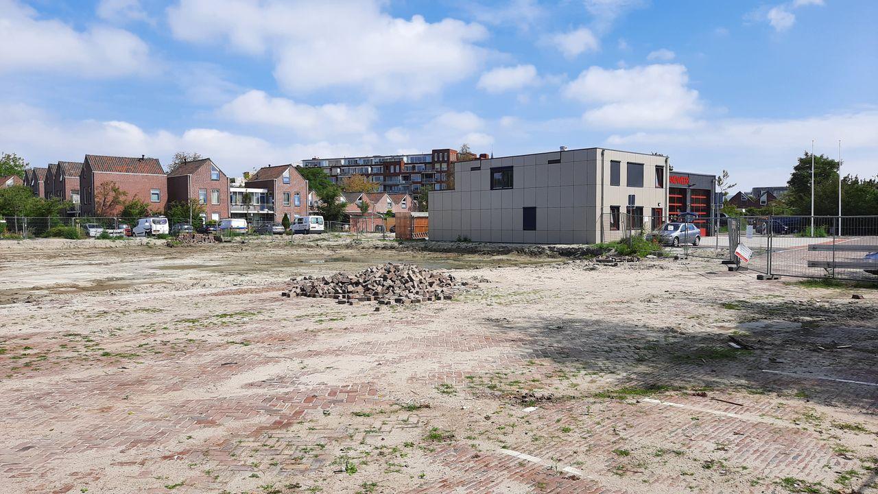 Bouw appartementen op oude brandweerlocatie in oktober