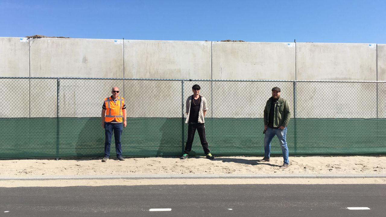 Jeugd mag kale metromuur aan Badweg opleuken