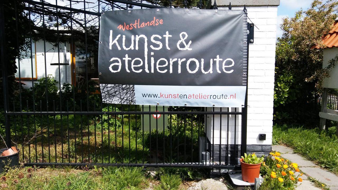 Westlandse kunst- en atelierroute verplaatst naar 2022