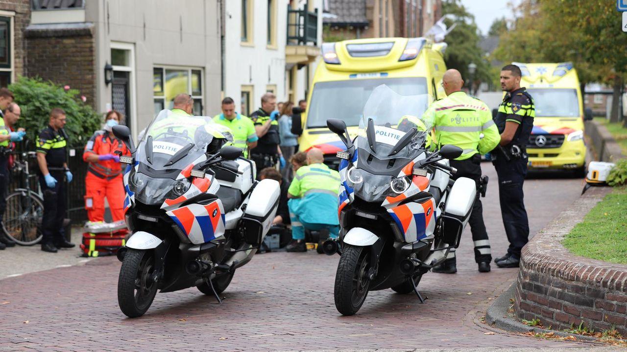 Dorpsstraat Schipluiden tijdje afgesloten vanwege reanimatie