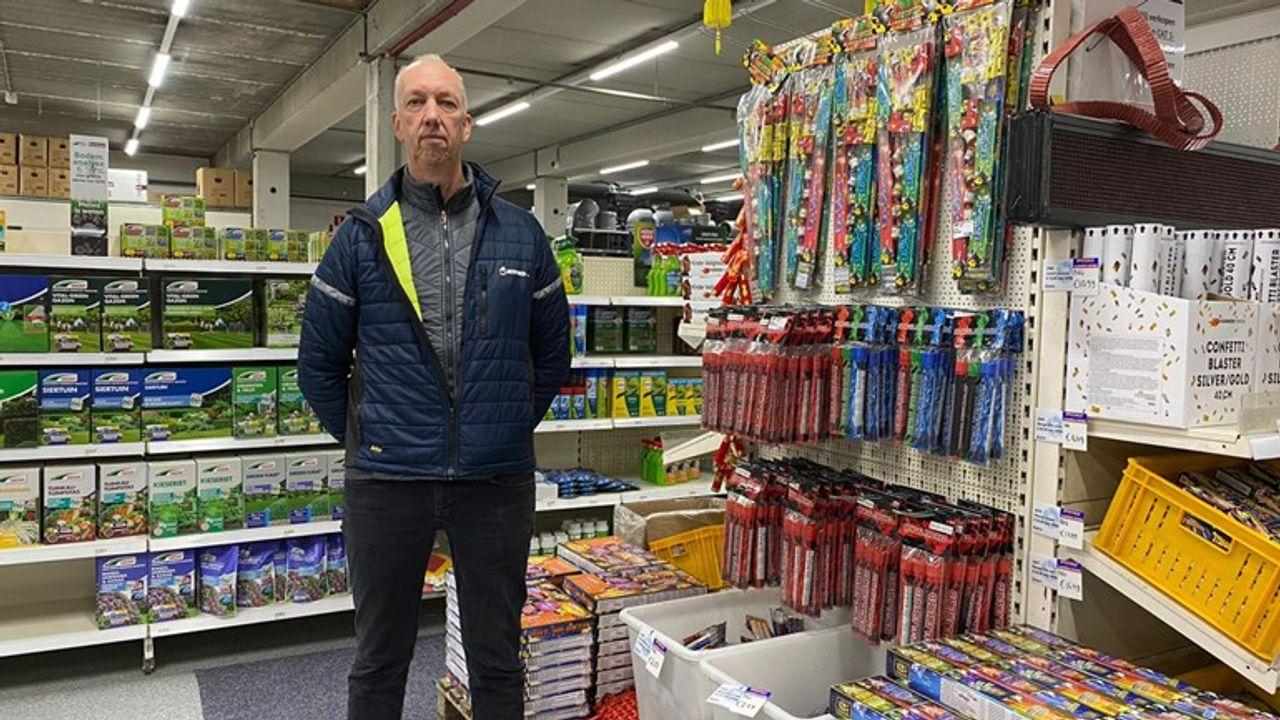 Vuurwerkhandelaar Benfried: 'Je kunt niet bij de pakken blijven neerzitten'