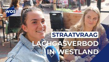 Straatvraag: wat vinden we van het lachgasverbod in Westland?