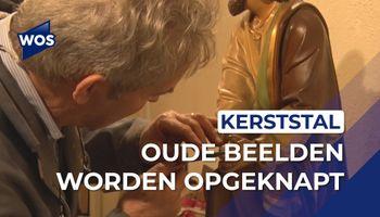 Oude kerststal terug bij Adrianuskerk in Naaldwijk
