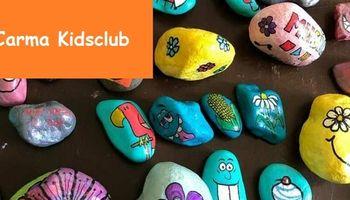 Carma Kidsclub: Happy Stones maken