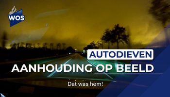 Aanhouding autodieven op video vastgelegd