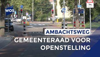 Gemeenteraad voor openstelling Ambachtsweg
