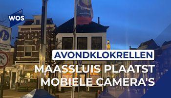 Uit voorzorg mobiele camera's op Markt in Maassluis