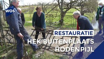 Hek Buitenplaats Hodenpijl wordt gerestaureerd
