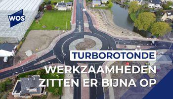 Drone filmt turborotonde Monster