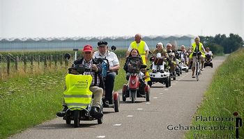 Scootmobieltocht vanuit Honselersdijk