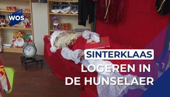 Sinterklaas logeert in De Hunselaer