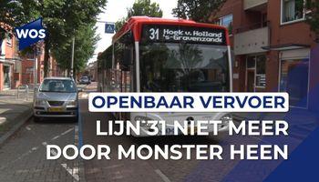 Lijn 31 niet meer door Monster