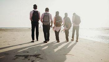 Carmahuis: Strandwandeling Jongvolwassenen