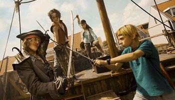 Film De Piraten van Hiernaast in De Naald