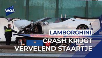 Bloedsnelle sportwagen uit De Lier crasht