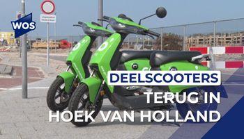 Deelscooters terug in Hoek van Holland