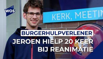 Jeroen (20) hielp 20 keer bij reanimaties