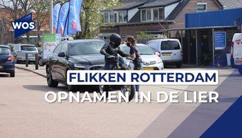 Opnamen voor Flikken Rotterdam in De Lier