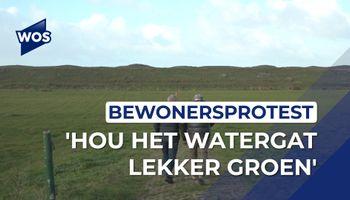 Omwonenden willen Watergat groen houden
